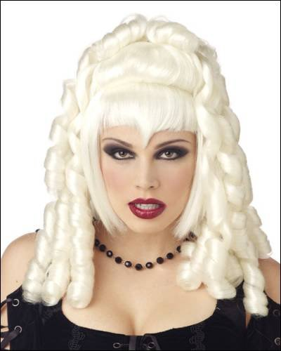 Goth Vampira White Costume