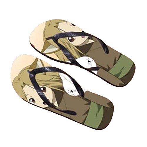 Bromeo Natsume Yuujinchou Anime Unisex Flip Flops Chanclas 739