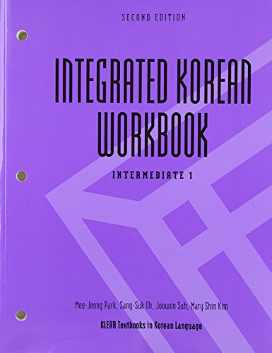 Integrated Korean Workbook,Intermed.1