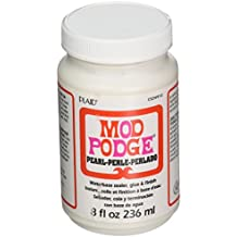 Mod Podge Waterbase Sealer, Glue and Finish for Art (8-Ounce), CS24910 Pearl Finish
