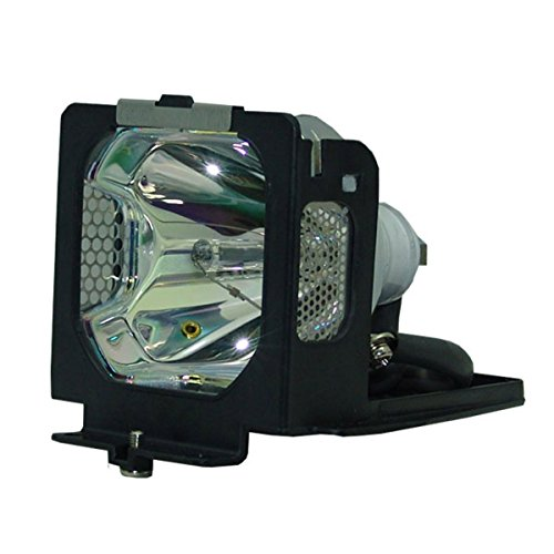 OEM Eiki Projector Lamp, Replaces Part Number 6103092706 with Housing by AuraBeam