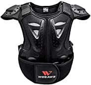 SmartHS Kid Armor Vest Children Chest Back Spine Protector Body Guard for Dirtbike, Cycling, Skiing, Riding, S