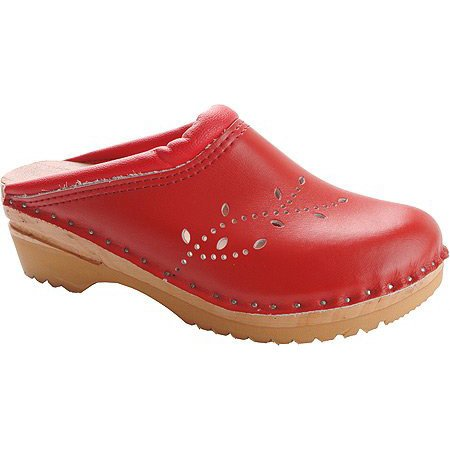 Leather Clog O'Keefe Women's Båstad Red Troentorp H6tfqw