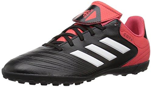 adidas  Girls Copa Tango 18.4 TF J, Core Black/White/Real Coral, 13.5 M US Little Kid