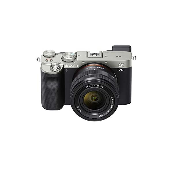 RetinaPix Sony Alpha ILCE-7C with 28-60mm Zoom Lens (Compact Full Frame Camera, 4K, Flip Screen, Light Weight, Real time Tracking, Content Creation)