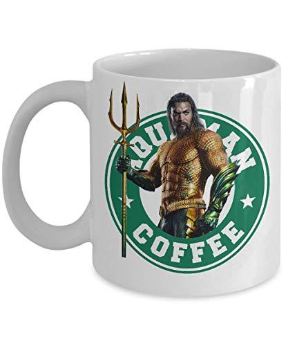 Aquaman Mug- Starbucks Inspired King of Atlantis Coffee Mug, Comics, Movie, Superhero Coffee Cup- Coffee Mug, Tea Mug, Cute Mug - Gift, cute gift, Souvenir, 11oz, 15oz