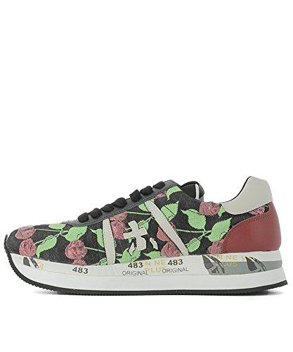 Premiata Sneakers Donna CONNY1941 Pelle Multicolor