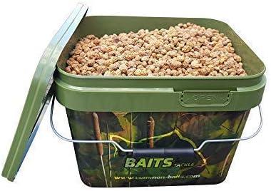 Commonbaits Chufas Natural Mix 7,5 kg Im 10l Camo Cubo / Tigres Mixto Tamaños