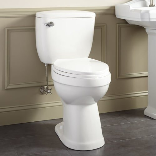 413995 Stalnaker 1.6 GPF Siphonic Two Piece Elongated Toilet - Seat Included