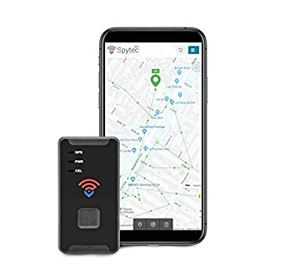 Spytec STI 2019 Model GL300MA GPS Tracker- 4G LTE Mini Real Time GPS Tracking Device for Cars, Vehicles, Kids, Spouses, Seniors, Equipment, Valuables