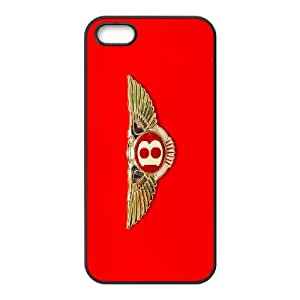 Bentley G5D83C4BI funda iPhone 5 5s caso funda C221JF negro