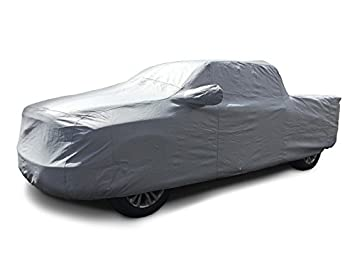 CarsCover 100% Rain Waterproof Custom Fit 2001-2018 Ford F150 F250 F350 Crew Cab 6.5ft Short Bed Truck Car Cover Heavy Duty All Weatherproof Ultrashield 709870730689