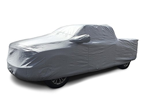 CarsCover 100% Rain Waterproof Custom Fit 2000-2018 Chevy Silverado 1500 Crew Cab 5.5ft Short Bed Box Truck Car Cover Heavy Duty All Weatherproof Ultrashield