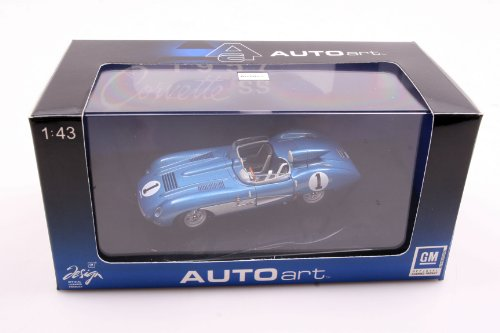 AutoArt 1/43 Scale Diecast AA51051 CHEVEROLET SS 1957 BLUE