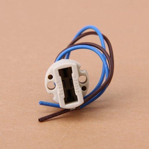 Bonlux 10 Pack G9 Light Bulb Socket Ceramic Lamp Base