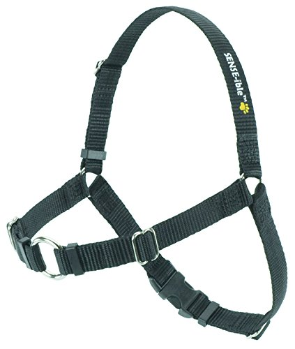 Softouch Sense-ible No-Pull Dog Harness – Black Medium