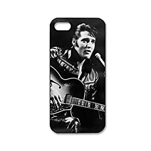 Case for Iphone - Ian Elvis Presley Pattern Plastic Hard Case for iPhone 5/5S