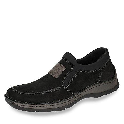 Men 5352 Schwarz 02 Schwarz Black Rieker Loafers Graphit ZSqaO7wF8F