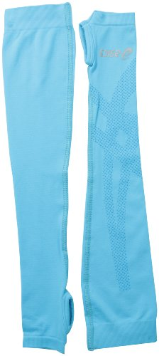 Jersey Arm Warmers - ASICS Speed Chill Arm Sleeves, Aquarium, Large/X-Large