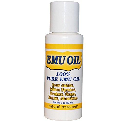 - Natural Treasures, BNG, EMU Oil, 2 oz (59 ml) - 2pc