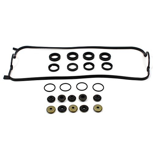 New VCG1300 Updated Engine Valve Cover Gasket Set w/Spark Plug Tube Seals & Grommets