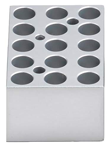 Thomas BSH100-1520 Mini Dry Bath Heat Block with 15 x 1.5 or 2.0mL Microtubes-conical