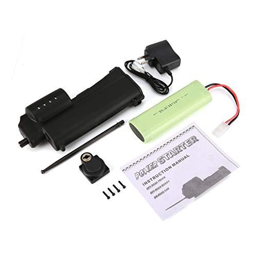 WOSOSYEYO 70111 eléctrico Handheld Potencia de Arranque para 1/8 1/10 RC Nitro Motor de 18 Aviones