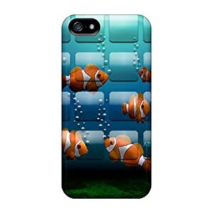 Bernardrmop Case Cover For Iphone 5/5s - Retailer Packaging Fish Protective Case