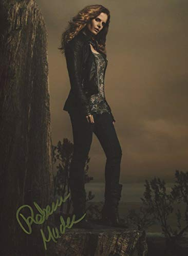 Rebecca Mader Signed Autograph Once Upon Time Zelena 8x10 Photo With COA pj ()
