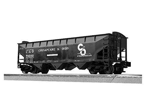 O Scale C&O 3 Bay Offset Hopper #79475 - Lionel 16090C