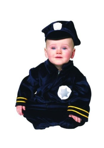 Little Police Bunting Newborn Costume by RG Costumes