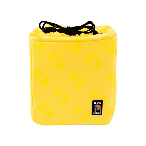 Ape Case ACQB35 Cubeze Interior Case for Cameras (Black/Yellow)