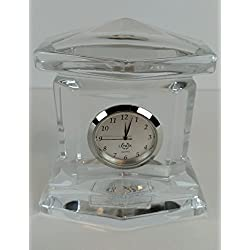 Lenox Lead Crystal Ovations Monument Statue Clock