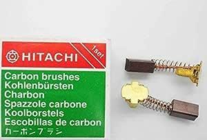 2X 4,7x8x12//13mm CARBON BRUSHES HITACHI 999006 BUW-SH2 MLU-2 DM-13 DW-24 DW-30
