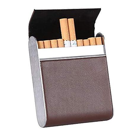 Estuche de Cigarrillos Estuche de Cuero para Cigarrillos ...