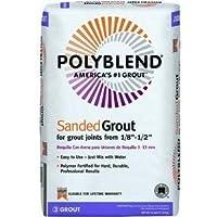 Custom Building Products 45 Polyblend Sanded Tile Grout, 25-Pound, Summer Wheat by Custom Building Products