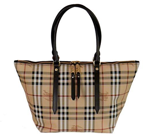 Burberry Haymarket Salisbury Check Tote Bag