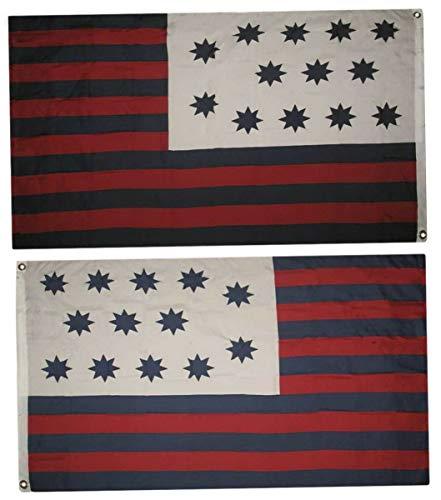 Hebel 3x5 Guilford Courthouse Flag 3x5 Banner Grommets Fade Resistant Premium   Model FLG - 823