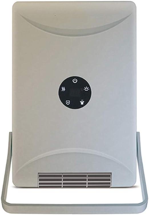 YYZLG Moda,Ventilador Inteligente de PTC, Disponible en Cuatro Estaciones, Calentador, compañero de baño, Calentador de Iones Negativos, calefacción de 3 Segundos ...