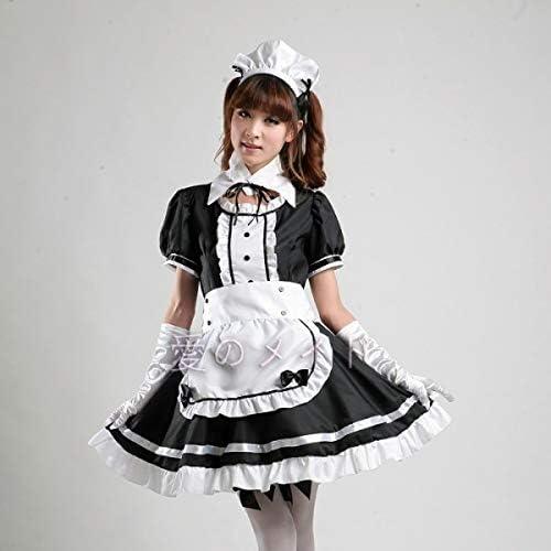 WSJDE Disfraz de sirvienta Francesa Sexy Dulce Vestido gótico ...