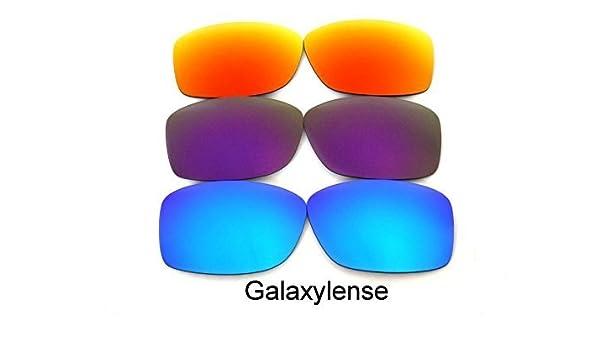 Lentes De Repuesto Para Oakley Jupiter Squared azul, púrpura y rojo Polarizados 3Pair - Transparente, regular: Amazon.es: Ropa y accesorios