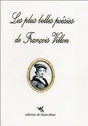 Les plus belles poésies de François Villon