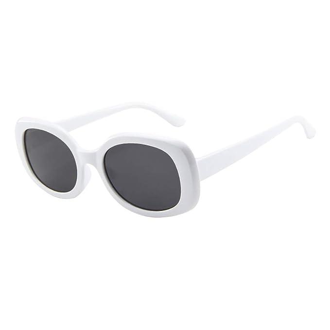 56100db09d29c7 URIBAKY Unisex Vintage Retro Oval Brillen Sonnenbrillen,Brillen Frauen  Männer Mode für das Reisen  Amazon.de  Bekleidung