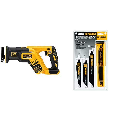 DEWALT 20V MAX XR Reciprocating Saw, Compact, Tool Only...