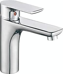 Nero Dolce Basin Mixer - Silver