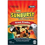 Higgins Sunburst True Fruits Gourmet Treats for Conures, Parrots & Macaws, 5 oz. by Higgins (English manual)