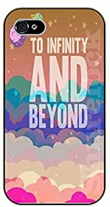 iPhone 6+ Plus To infinity and beyond. Clouds - black plastic case / Walt Disney And Life Quotes, story, toy