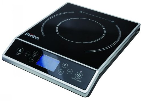 Max Burton 6400 Digital Choice Induction Cooktop 1800 Watts LCD Control