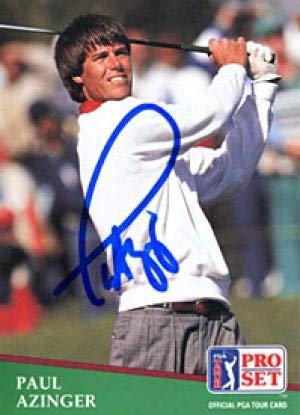 Paul Azinger Autographed/Signed 1991 Pro Set Card - Autographed Golf Cards