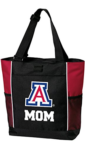 Broad Bay University of Arizona Mom Tote Bags Red Arizona Wildcats Mom Totes Beach ()